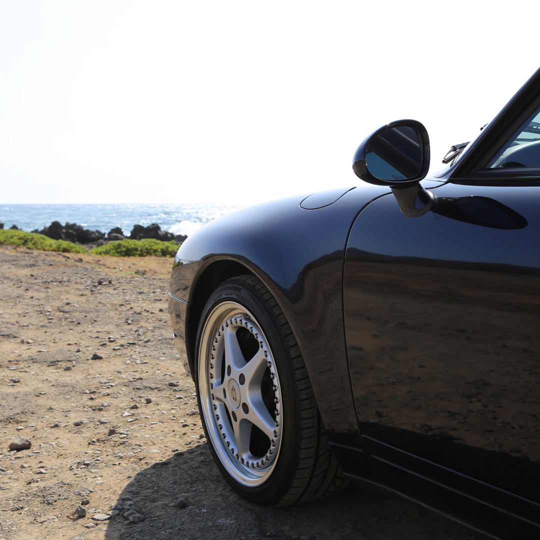 Porsche 993 at Sandy Beach