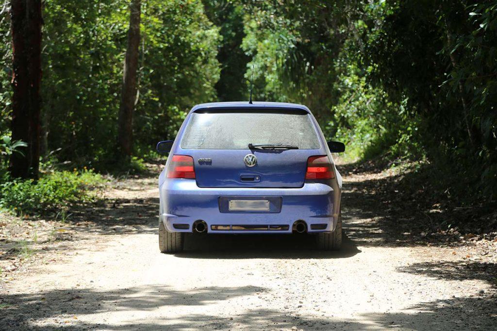 Dirty VW Golf R32