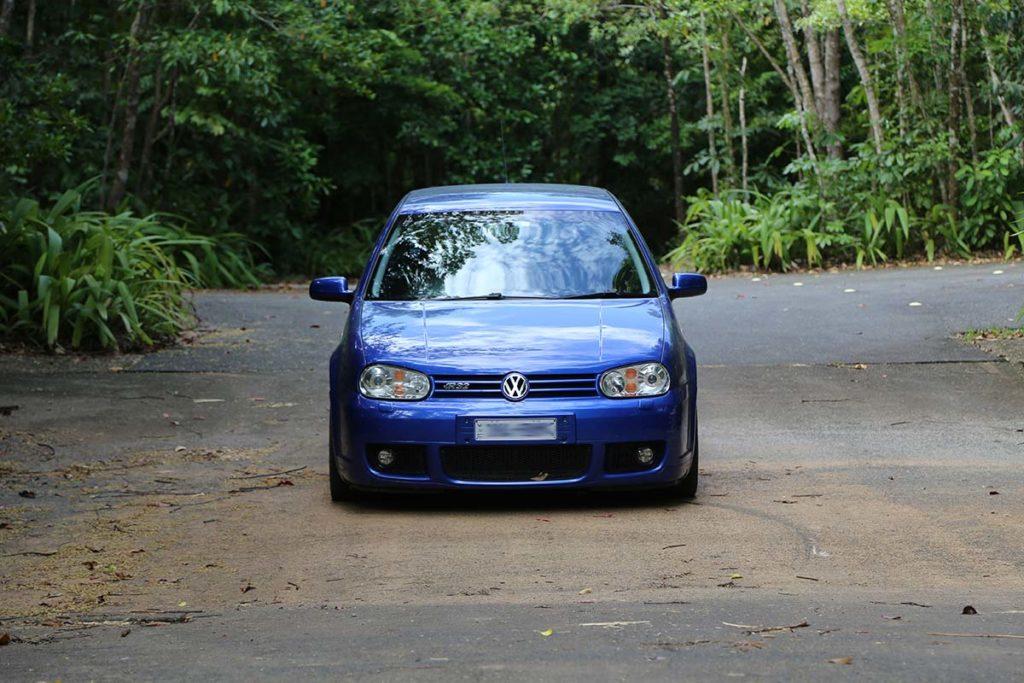VW Golf R32 in the Daintree Rainforest